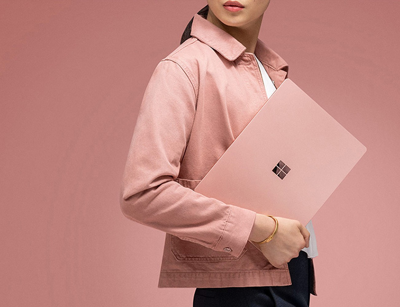 Pink Surface Laptop 2 debuts exclusively in China